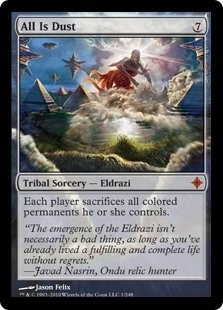 All Is Dust - Rise of the Eldrazi - Mythic Rare