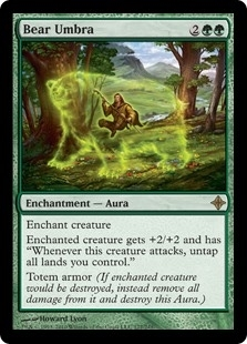 Bear Umbra - Rise of the Eldrazi - Rare