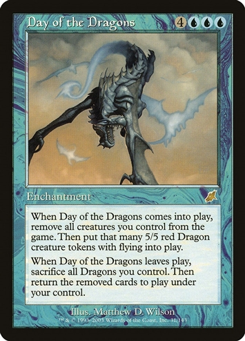 Day of the Dragons - Scourge - Rare