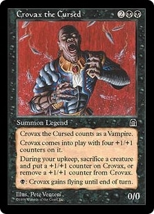 Crovax the Cursed - Stronghold - Rare