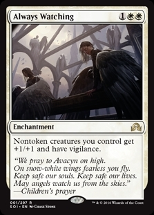 Always Watching - Shadows over Innistrad - Rare