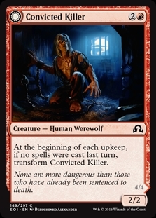 Convicted Killer // Branded Howler - Shadows over Innistrad - Common