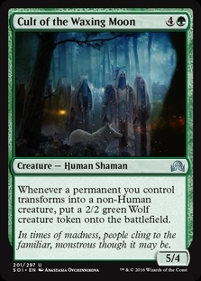 Cult of the Waxing Moon - Shadows over Innistrad - Uncommon