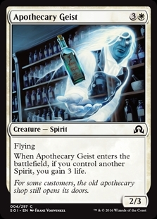Apothecary Geist - Shadows over Innistrad - Common