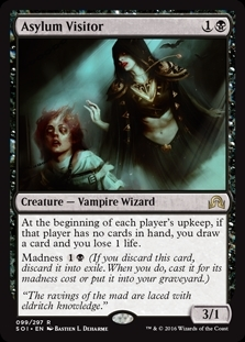 Asylum Visitor - Shadows over Innistrad - Rare