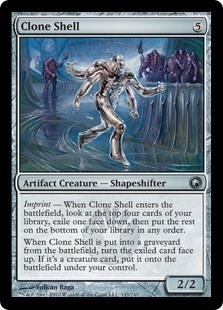 Clone Shell - Scars of Mirrodin - Uncommon
