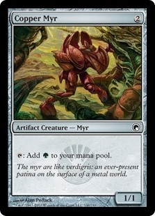 Copper Myr - Scars of Mirrodin - Common