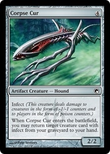 Corpse Cur - Scars of Mirrodin - Common