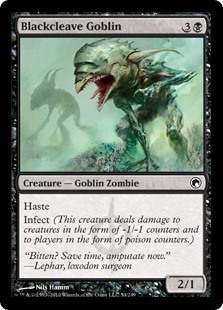 Blackcleave Goblin - Scars of Mirrodin - Common
