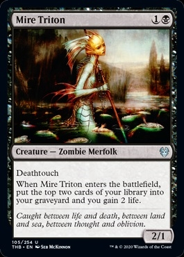 Mire Triton - Theros Beyond Death - Uncommon