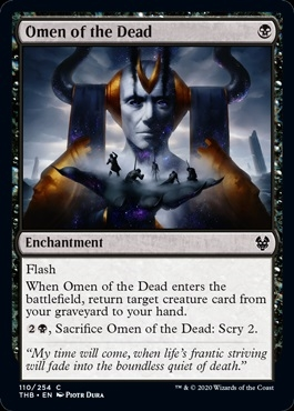 Omen of the Dead - Theros Beyond Death - Common