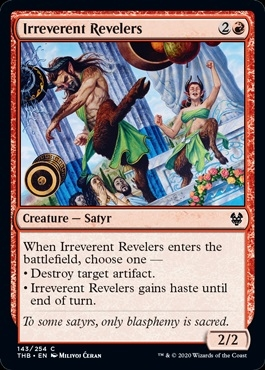 Irreverent Revelers - Theros Beyond Death - Common