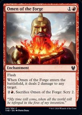 Omen of the Forge - Theros Beyond Death - Common