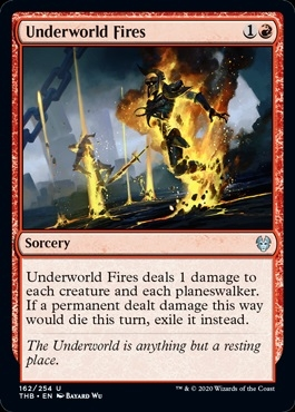 Underworld Fires - Theros Beyond Death - Uncommon