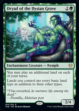 Dryad of the Ilysian Grove - Theros Beyond Death - Rare