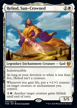 Heliod, Sun-Crowned - Theros Beyond Death - Mythic Rare