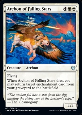 Archon of Falling Stars - Theros Beyond Death - Uncommon