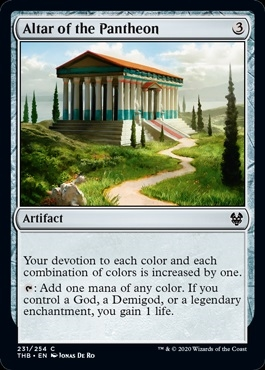 Altar of the Pantheon - Theros Beyond Death - Common