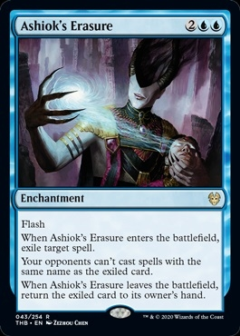 Ashiok's Erasure - Theros Beyond Death - Rare