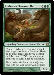 Anthousa, Setessan Hero - Theros - Rare