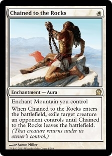Chained to the Rocks - Theros - Rare