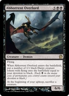 Abhorrent Overlord - Theros - Rare