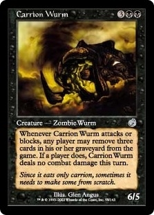 Carrion Wurm - Torment - Uncommon