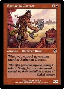 Barbarian Outcast - Torment - Common