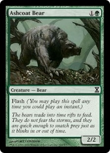 Ashcoat Bear - Time Spiral - Common