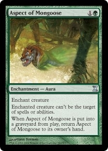 Aspect of Mongoose - Time Spiral - Uncommon