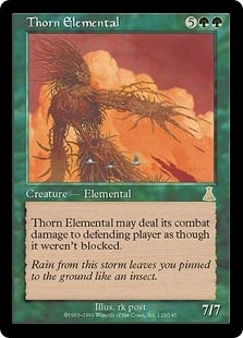 Thorn Elemental - Urza's Destiny - Rare