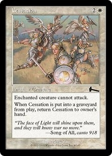 Cessation - Urza's Legacy - Common