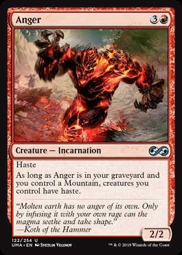 Anger - Ultimate Masters - Uncommon