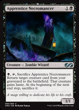 Apprentice Necromancer - Ultimate Masters - Uncommon