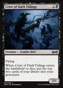 Crow of Dark Tidings - Ultimate Masters - Common
