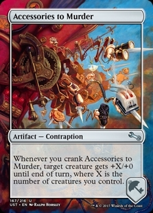 Accessories to Murder - Unstable - Uncommon