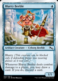 Blurry Beeble - Unstable - Common