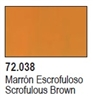 Game Color 17ml - Scrofulous Brown