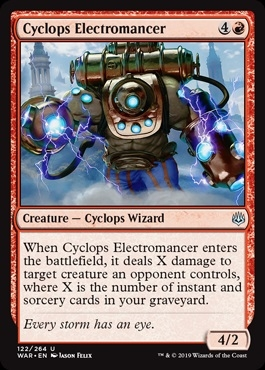 Cyclops Electromancer - War of the Spark - Uncommon
