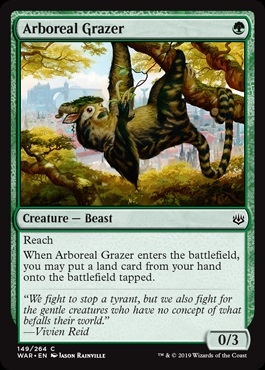 Arboreal Grazer - War of the Spark - Common