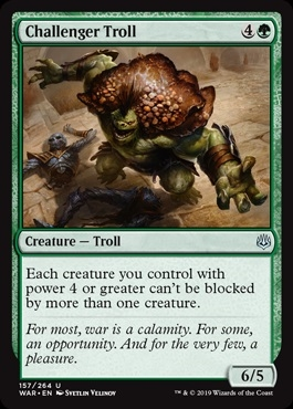 Challenger Troll - War of the Spark - Uncommon