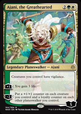 Ajani, the Greathearted - War of the Spark - Rare