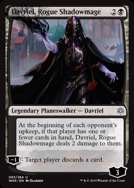Davriel, Rogue Shadowmage - War of the Spark - Uncommon