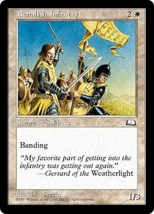 Benalish Infantry - Weatherlight - Common