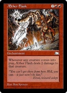 Aether Flash - Weatherlight - Uncommon