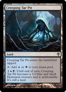 Creeping Tar Pit - Worldwake - Rare
