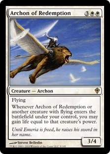 Archon of Redemption - Worldwake - Rare