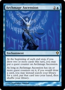 Archmage Ascension - Zendikar - Rare