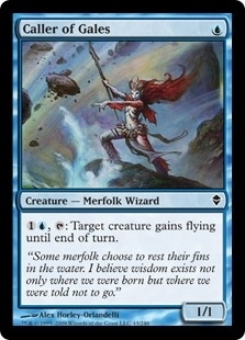 Caller of Gales - Zendikar - Common