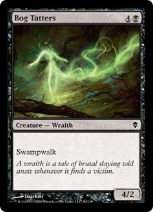 Bog Tatters - Zendikar - Common